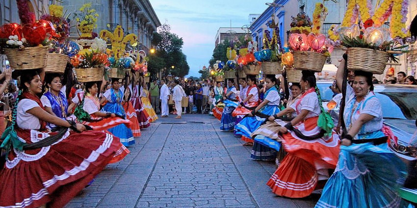 The Guelaguetza Festival in Oaxaca City